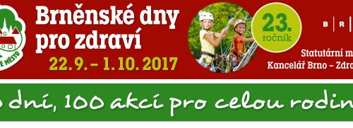 dny pro zdraví Brno 28. 9. 2017
